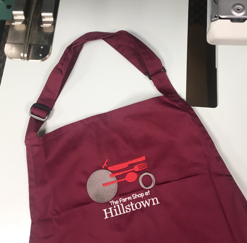 Promotional clothing and logo custom Embroidery in Ballymena County
